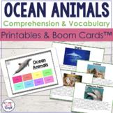Ocean Animals Facts!  {Receptive & Expressive Language Act