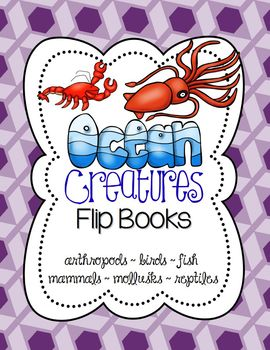 https://www.teacherspayteachers.com/Product/Ocean-Animals-Flip-Books-Interactive-Science-Journal-Explore-Classifications-1133681