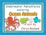 Ocean Animals Unit {Common Core Aligned} {Literacy, Scienc