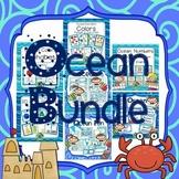 Ocean Classroom Organization and Decor Bundled Collection