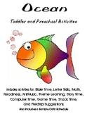 Ocean Theme Unit for Preschool or Kindergarten