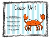 Ocean Unit for Early Elementary