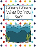 Ocean Vocabulary Book