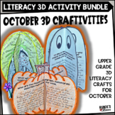 October Craftivities - Literacy-Themed Craftivities for October