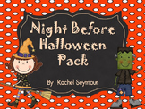 Night Before Halloween Pack