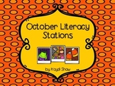 October Literacy Stations