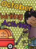October Writing Activities for 1st-2nd grade :o)