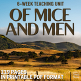 Of Mice and Men Lesson, Activity, and Assessment Bundle -