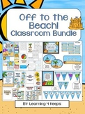 Off to the Beach! Classroom Bundle