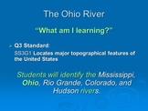 Ohio River (3rd Grade) by Jennifer A. Gates