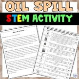 Oil Spill Inquiry STEM Activity - Environmental Education