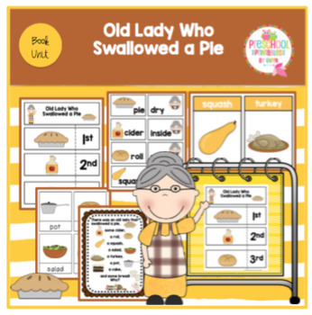 Old Lady Who Swallowed a Pie