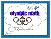 Olympic Math Night Games