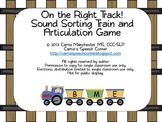 On The Right Track! Sound Sorting and Articulation Game