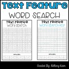 Text Feature Word Search
