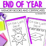 End of Year ~ On the Last Day of School-Parent Gift and Me