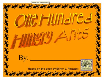 One Hundred Hungry Ants - Math Booklet
