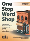One Stop Word Shop Research Based Lesson Book (Grades 3-5)