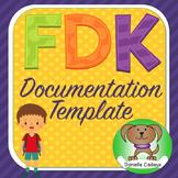 Ontario Full Day Kindergarten Learning Story Documentation