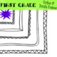 Oodles of Doodle Frames MEGA PACK {Digital Borders} 15 Frames!