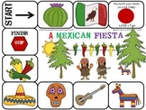 Open Ended Game Boards and Activites for Cinco De Mayo - May