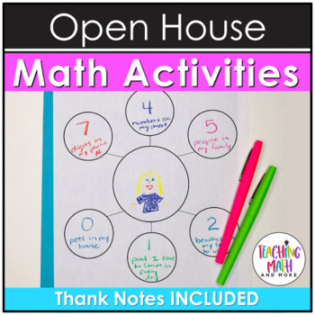 Open House Activities