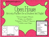 Open House/ Back to School Night Activity Packet
