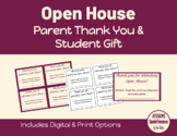 Open House Bonus Tickets