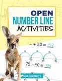 Open Number Line Practice Pack