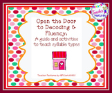 Syllables Game - Open the Door to Decoding & Fluency