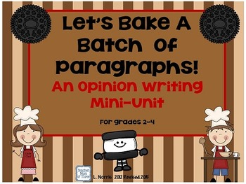 Opinion Persuasive Writing-  Oreo  Style!