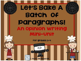 Opinion Writing Mini Unit~ Oreo  Style!