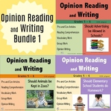 Opinion Reading and Writing Bundle 1
