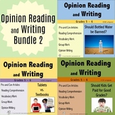 Opinion Reading and Writing Bundle 2