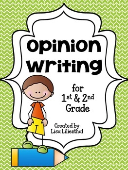 Opinion Writing Packet for Primary Grades {Common Core}
