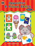 Opposites and Visual Skills TCR3229