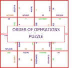 Order Of Operation Puzzle