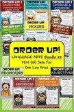 Language Arts Bundle #2 Order Up! (10 Sets)
