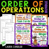 Order of Operations Bingo Combo (5th Grade)