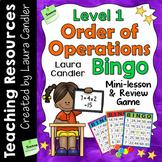 Order of Operations Bingo Level 1 (5th Grade)