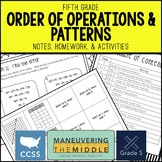 Order of Operations & Patterns {5th Grade}