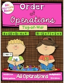 Order of Operations: Tug-of-War (All Operations)