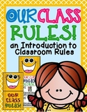 Our Class RULES!: A Foldable Classroom Management Craftivity