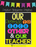 Our Classroom Promise (Positive Neon Posters)