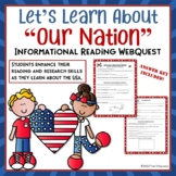 USA Web Quest Internet Search Lesson Common Core