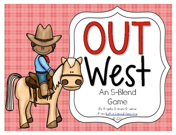 Out West - An S-Blends Game
