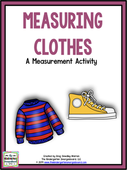 Outfitted For Measurement:  A Common Core Measurement Pack!