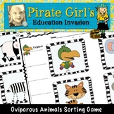 Oviparous Animals Sorting Game