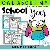 Owl About My School Year Posters and Memory Book