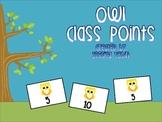 Owl Class Reward Chart